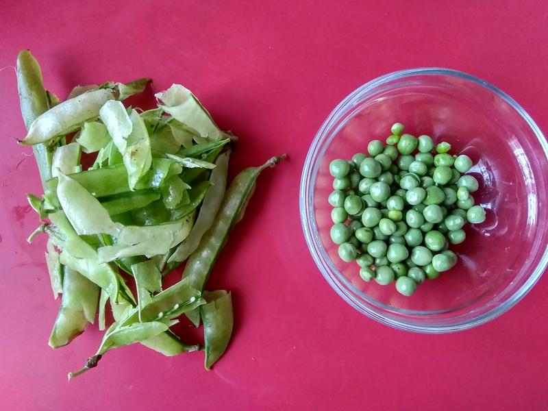 Свежий зелёный салат «Французское чудо»