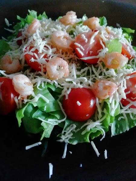 Рецепт креветочного салата