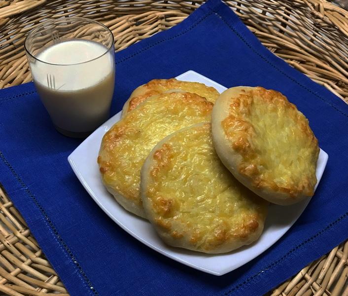 Рецепт сырных лепёшек