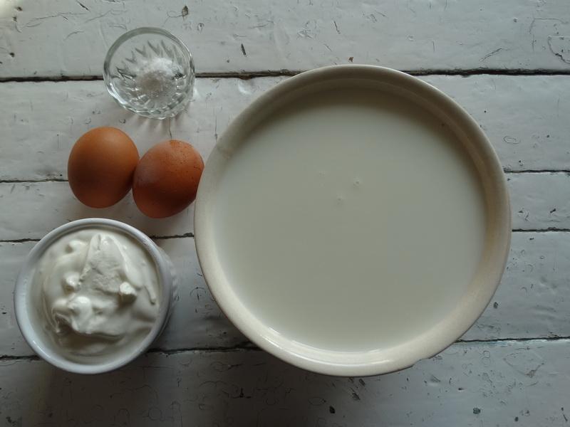 Как я делаю «свой» сливочный сыр (для салатов и бутербродов). По вкусу, как настоящий, а ингредиенты копеечные