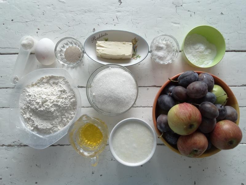 Душевный пирог «100 булочек» - можно нарезать на кусочки, а можно отделять каждую булку!