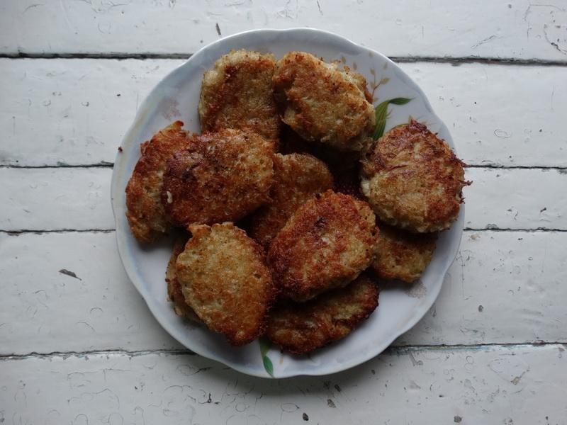 Еврейское картофельное блюдо «Латкес» или буквально брат-близнец наших драников