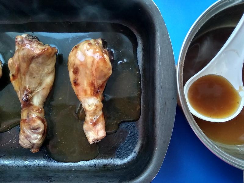 Делюсь рецептом «Цитрусового соуса». На мой взгляд для запекания куриных ножек подходит идеально