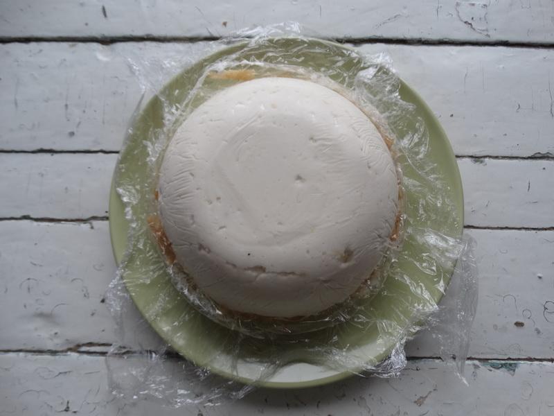 Торт, как суфле - нежный и очень вкусный (творожный, без выпечки, за 30 минут)