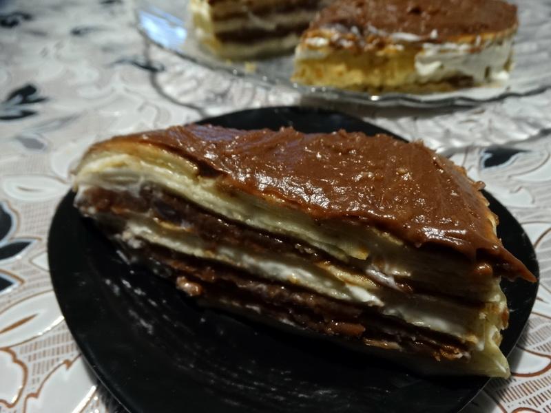 Торт Крепвиль