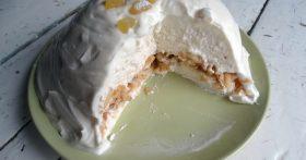 Торт, как суфле — нежный и очень вкусный (творожный, без выпечки, за 30 минут)