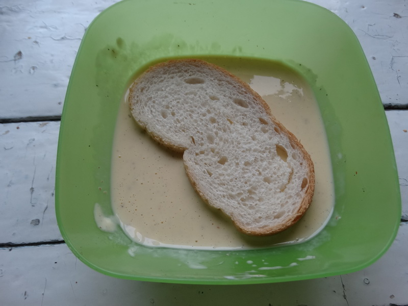 «Необычный бутерброд» - готовлю детям на завтрак, но и на стол праздничный подать можно