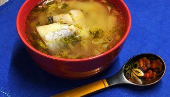 Суп с минтаем