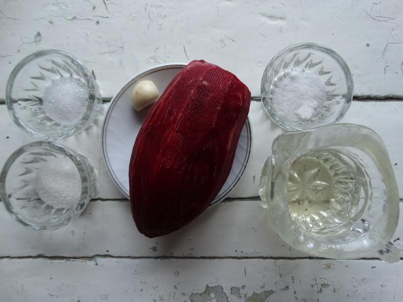Мой коронный рецепт борща с фасолью (Главный секрет: за день замариновать свеклу в чесноке). Вкус просто царственный