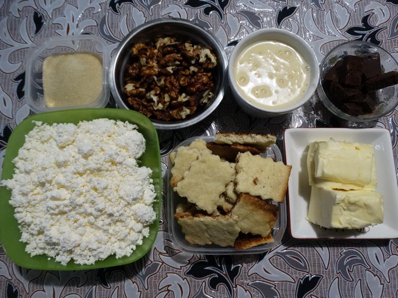 Карамельный чизкейк из творога. Все ингредиенты для десерта простые настолько, что можно готовить, хоть каждую неделю