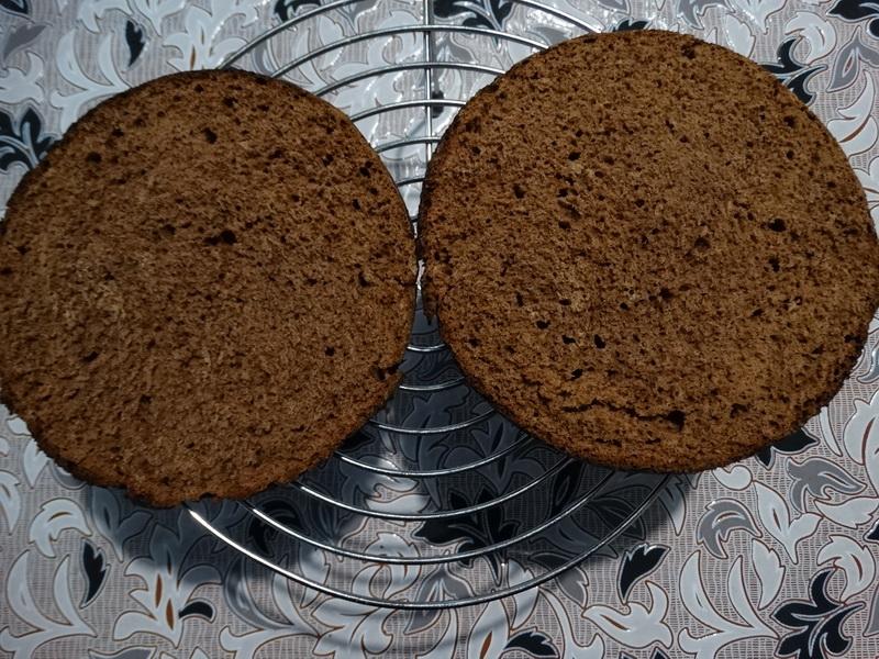 Медово-шоколадный торт. Всего 2 коржа, а по текстуре – просто облачко