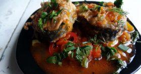 Любимый рецепт «Скумбрия с тыквой» — рыба простая, а блюдо настоящий деликатес