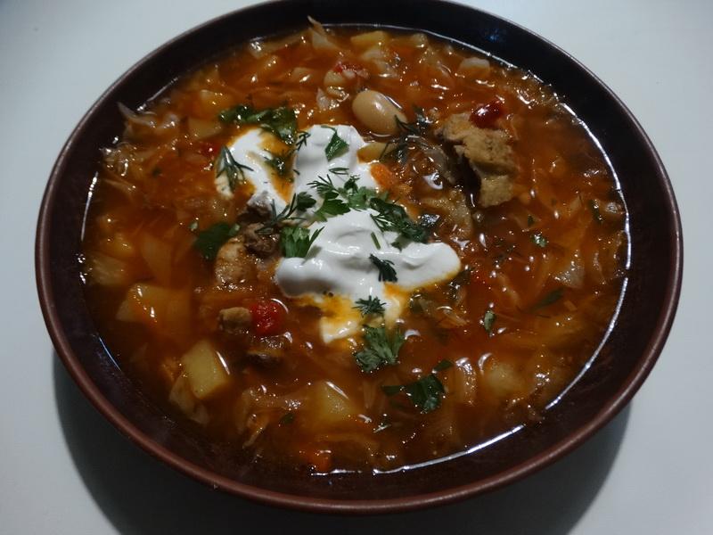 Мой коронный рецепт любимого борща с фасолью (Отдельно за день мариную свеклу)