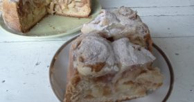 Со вкусом праздника. Оригинальный яблочный пирог. Не шарлотка