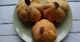 Тыковки из тыквы – булочки. Любимый ссобойчик детей, готовлю с начинкой и без