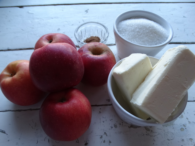 И красивый десерт, и вкусный крем - Карамель из яблок