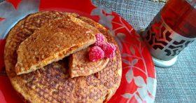 Медовые лепёшки с морковью на завтрак (специально для внуков нашла в инстаграме современный ПП-рецепт)