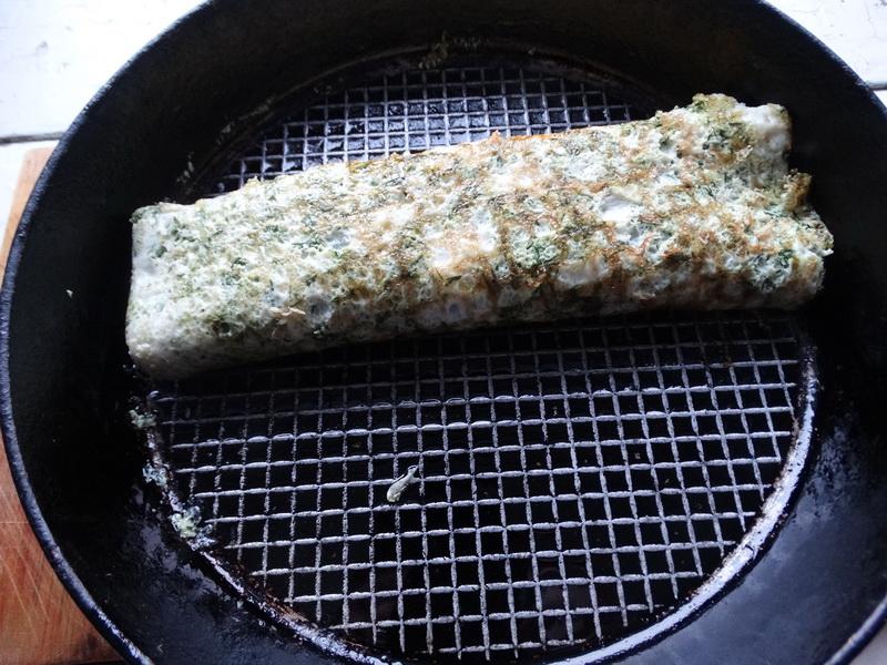 Мой идеальный завтрак: Яичница с сыром