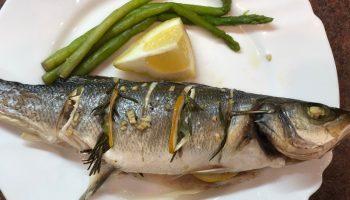 Как я готовлю сибас в духовке — рыбка получается очень сочной и ароматной