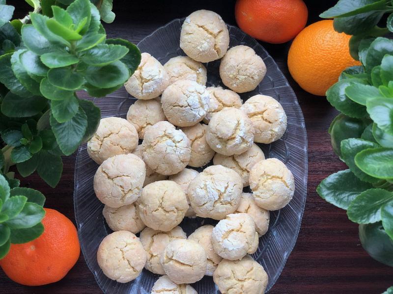 Апельсиновое печенье - простой и шикарный рецепт