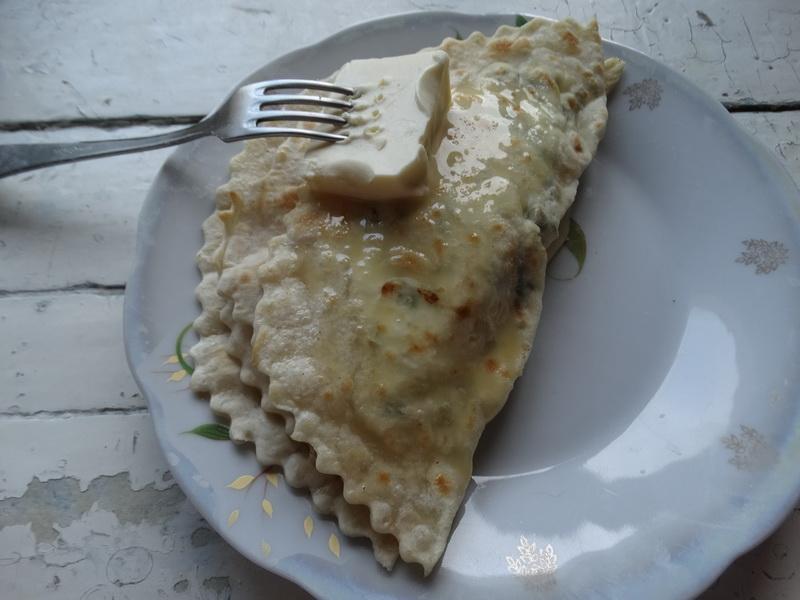 Из теста на воде – шикарные турецкие лепёшки «Гезлеме» делаю с творожной начинкой