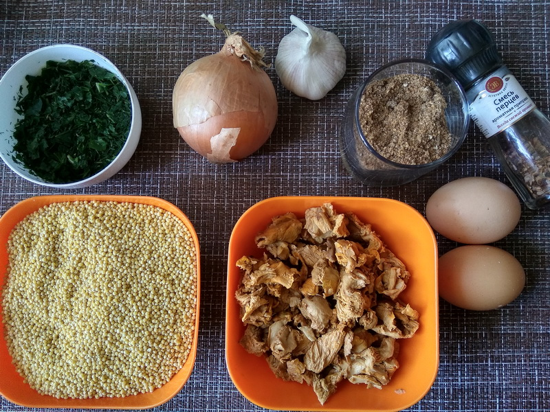 Нежные жареные «колобки» из пшена и грибов - вкусная, современная закуска, ещё и бюджетная