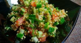Табуле – вкусный, необычный салат из восточной кухни (без мяса и можно готовить из нашей пшёнки)