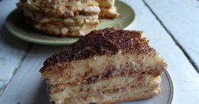 Торт без муки — вкус потрясающий, коржи воздушные. Ингредиентов минимум и главное всегда у меня получается, без осечек