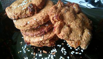 Моё открытие. Пеку овсяное печенье на арахисовой пасте и не нужно никаких животных жиров (масла), а результат вкуснейший