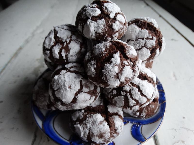 Печенье «Трещины в шоколаде»