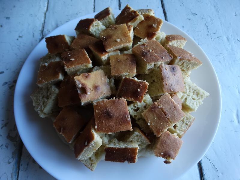 Остались только простые продукты вот и решила приготовить пирог «Кубики» - вкуснятина