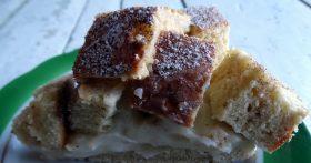 Остались только простые продукты вот и решила приготовить пирог «Кубики» — вкуснятина