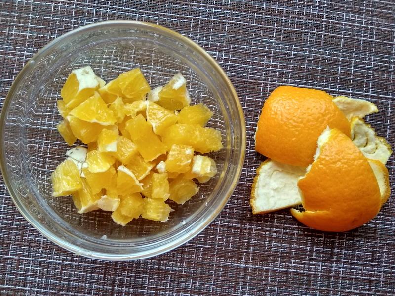 Свекольный салат с апельсином и финиками - сочетание продуктов отменное (без яиц и майонеза)