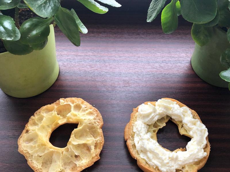 Заварные кольца с кремом – Ничего сложного + расскажу мой рецепт заварного теста: гладкое, тягучее и «пустоты» большие