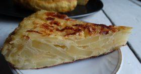 Испанская тортилья – мужу картошка так очень понравилась, просил на завтрак, обед и ужин. Просто, сытно и вкусно