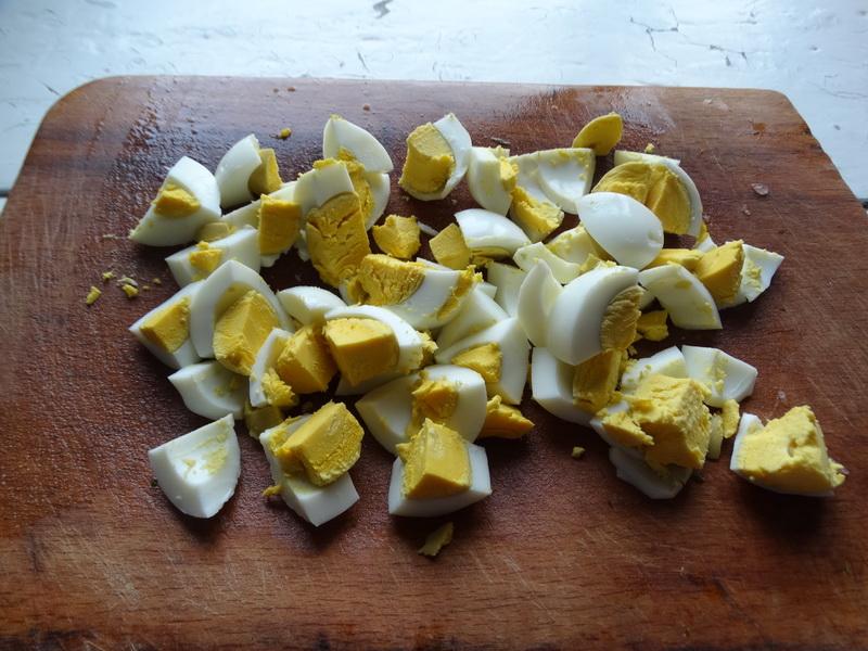 Салат с печеной капустой и рисом - просто и ново