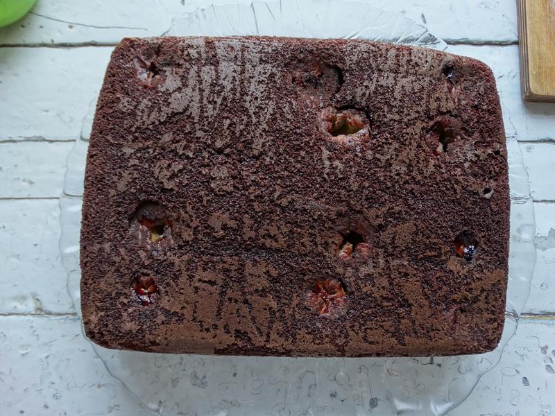 Заливной шоколадный пирог без хлопот - невероятно классно сочетаются шоколадный, банановый и даже кокосовый привкус