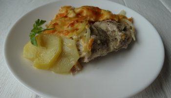 Голени по-французски. Рецепт элементарный, а мясо получается удивительно сочным и вкусным