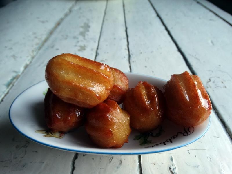 Воздушные «эклеры» – индийская сладость
