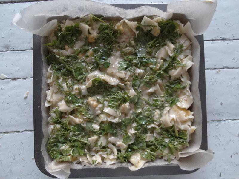 Пирог «Лапшевник» - готовлю из обычной лапши. Базовый, простой рецепт