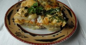 Картофельная лазанья — блюдо, которое очень любит мой муж