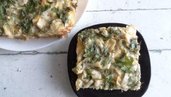 Пирог «Лапшевник» — готовлю из обычной лапши. Базовый, простой рецепт