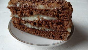 Моё новое открытие: раз, два и готово — торт Спартак (готовится на сковороде)