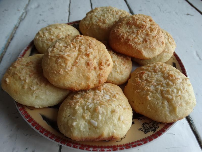 Кокосово-творожное печенье - воздушное с обалденным ароматом