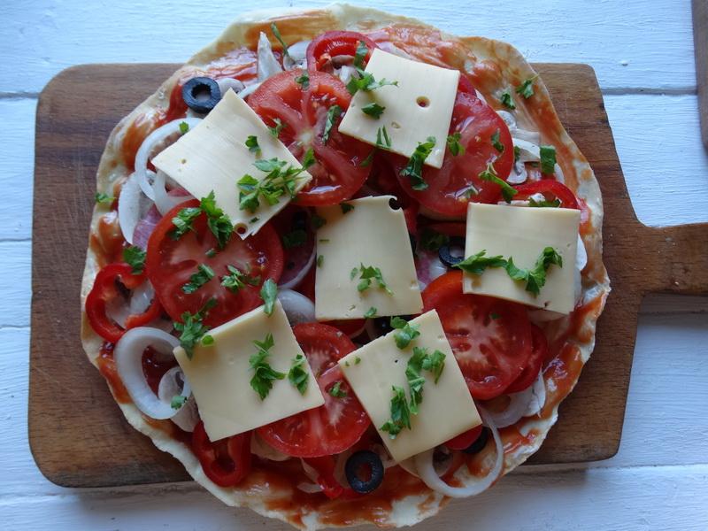 Красивая нарезка для пиццы