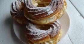 Улётные творожные кольца (хрупкое тесто + плотный крем) — рецепт, которому я научилась у известного кондитера Александра Селезнева