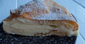 Большой «эклер» или вкуснейший торт Карпатка — один из любимых моих десертов. Делюсь рецептом