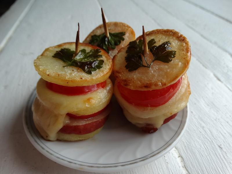 Картошка очень вкусно