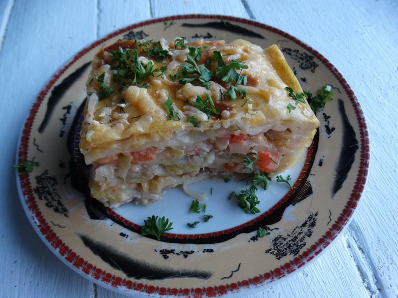 Такая необычная и просто необычайно вкусная лазанья из кабачка