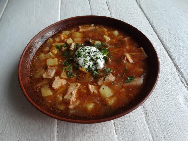 Чесночный суп «Пражский»